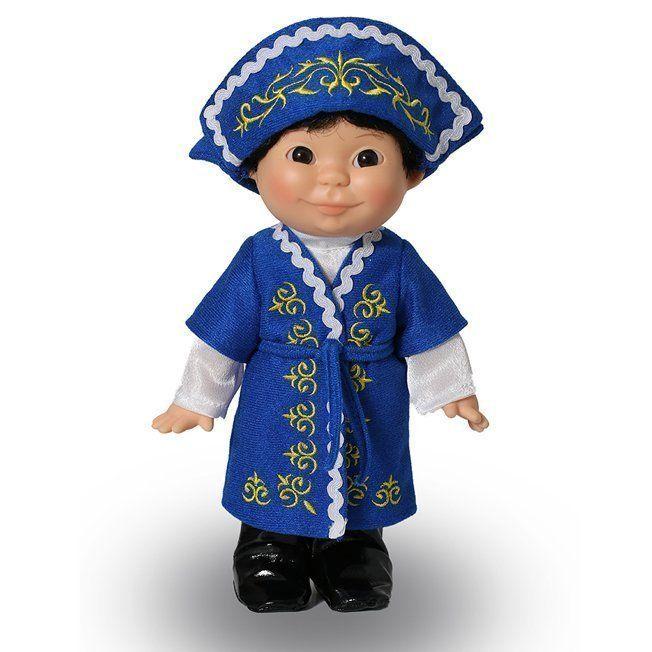 Веснушка Весна в казахском костюме (мальчик)