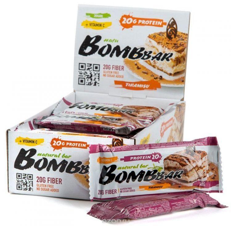 """Bombbar со вкусом """"тирамиру"""" 60 гр"""