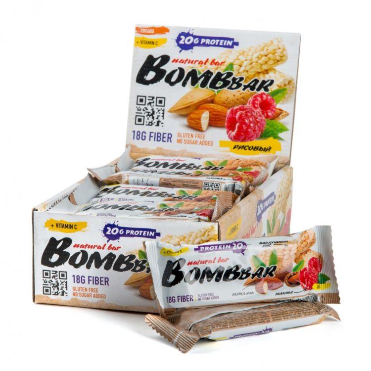 "Bombbar со вкусом ""РИСОВЫЙ"" 60 гр"