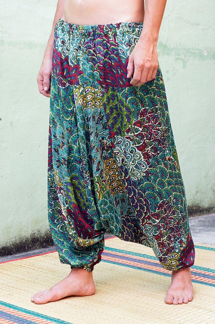 Восточные штаны алладины (отправка из Индии)