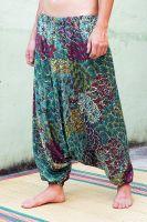 Восточные штаны алладины (афгани). Бесплатная доставка из Индии от 1999 руб. Интернет магазин Инд-Базар