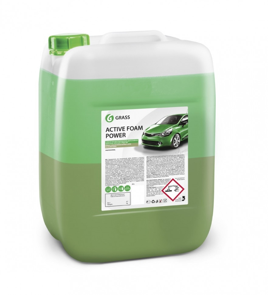 Активная пена «Active Foam Power» двухкомпонентный GRASS 20л
