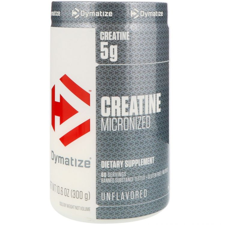 Creatine Micronized от  Dymatize  300 гр