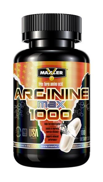 Arginine 1000 Max Maxler (100 таб)