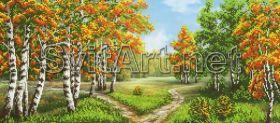 Svit Art A-333a Тихий Осенний Лес схема для вышивки бисером купить оптом в магазине Золотая Игла