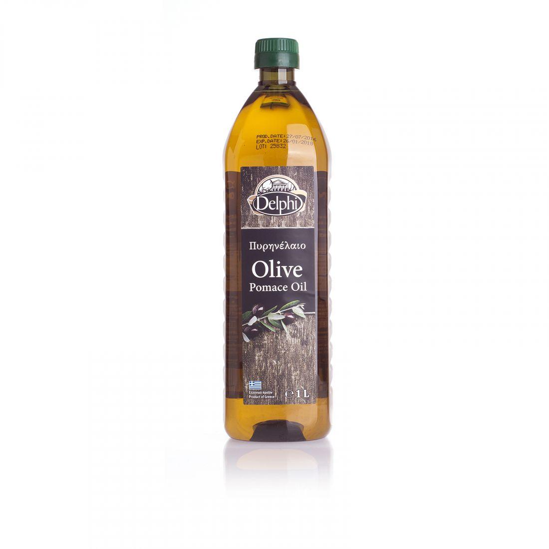 Оливковое масло DELPHI  - 1 л помас, для жарки