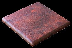 Ступень угловая Esquina Jasper Rojo 33×33