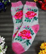 Носки женские бесшовные (АНГОРА)  №NT019