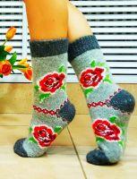 Носки женские безшовные (АНГОРА)  №NT015