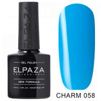 Elpaza гель-лак Charm 058, 10 ml