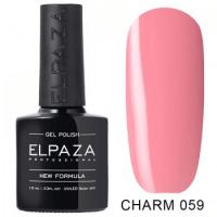 Elpaza гель-лак Charm 059, 10 ml