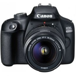Зеркальный фотоаппарат Canon EOS 4000D Kit 18-55 DC III