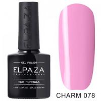 Elpaza гель-лак Charm 078, 10 ml