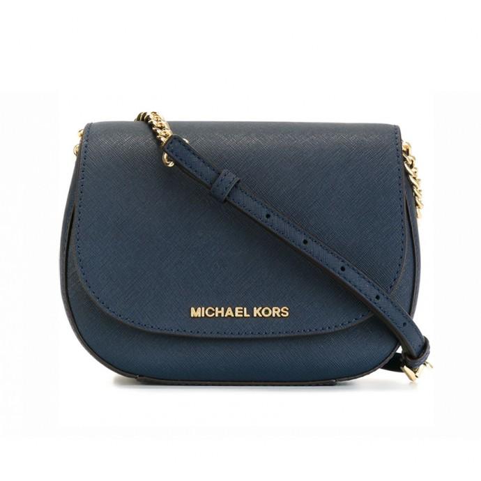 Michael Kors Hamilton crossbody mini dark blue