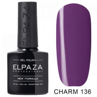 Elpaza гель-лак Charm 136, 10 ml