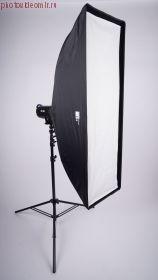 Софтбокс FST SB-235U 40x120cm быстрораскладной