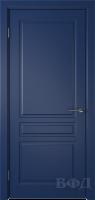 Межкомнатная дверь «Стокгольм» эмаль синяя