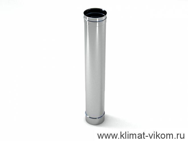 Труба ф 130,  0,5м, AISI 439/0,5мм