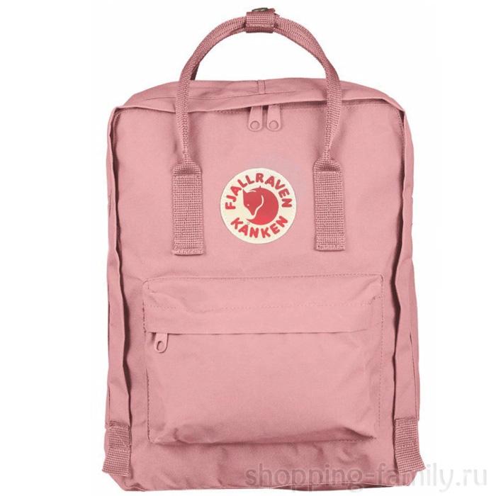 Городской сумка-рюкзак Fjallraven Kanken Classic, Цвет Розовый персик