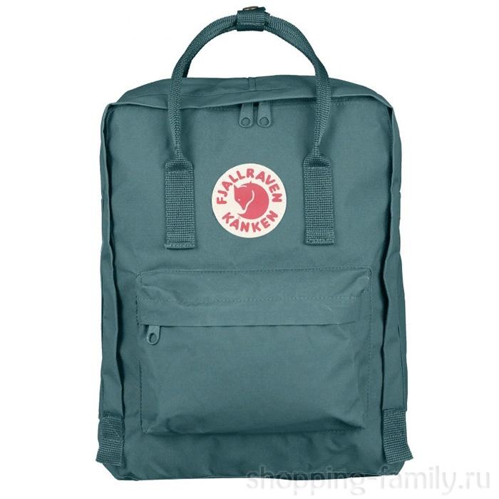 Городской сумка-рюкзак Fjallraven Kanken Classic, Цвет Морозный зелёный