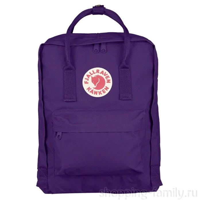 Городской сумка-рюкзак Fjallraven Kanken Classic, Цвет Пурпурный