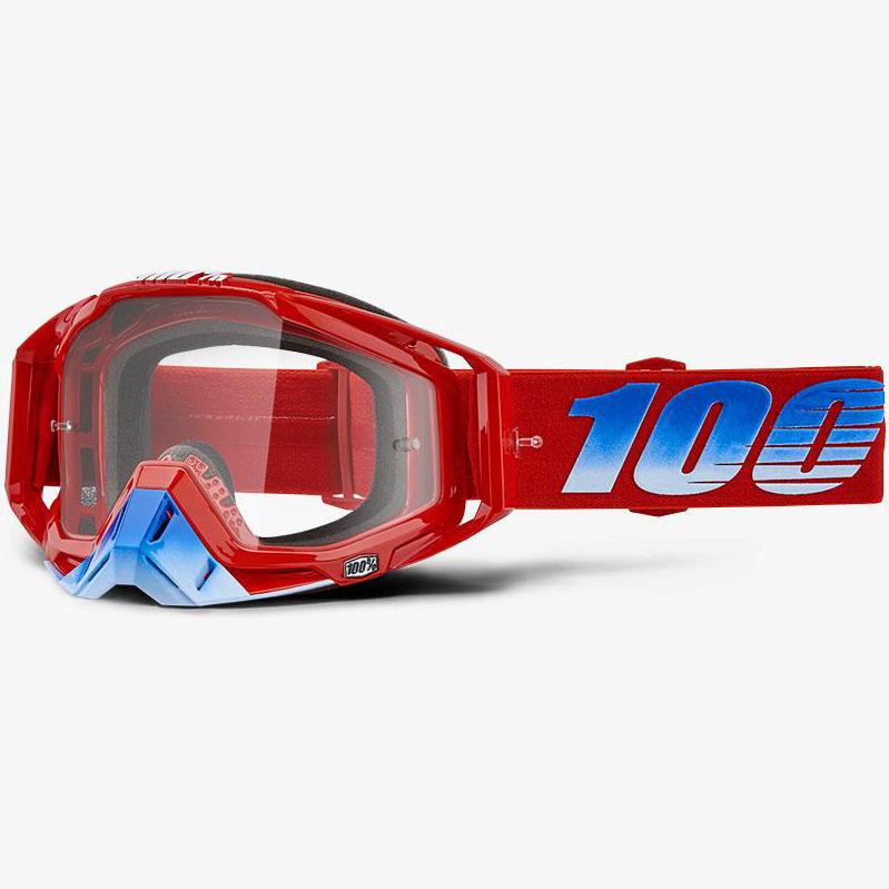 100% - Racecraft Kuriakin очки, прозрачная линза