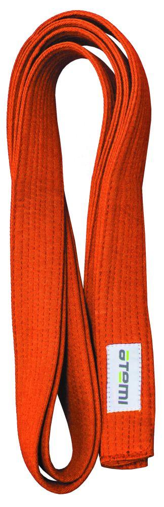 Пояс для кимоно ATEMI 280 см оранжевый