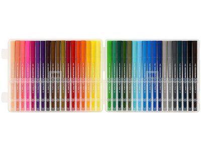 Набор цветных маркеров KACO Double Tips Pen 36