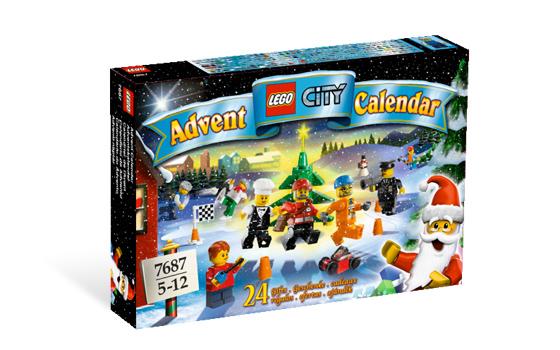 Рождественский календарь. Конструктор ЛЕГО 7687
