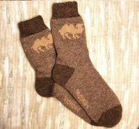 Носки мужские бесшовные (шерсть)№0157