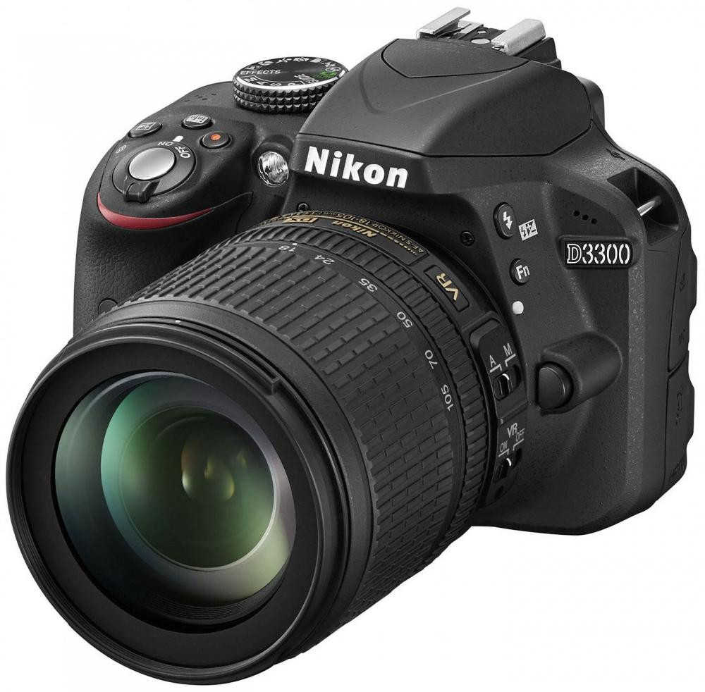 nikon D3300 kit 18-105mm f/3.5-5.6G AF-S ED DX VR Nikkor