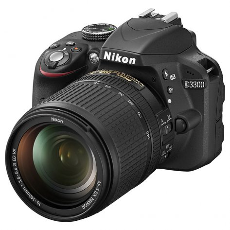 Nikon D3300 Kit 18-140mm f/3.5-5.6G ED VR DX AF-S