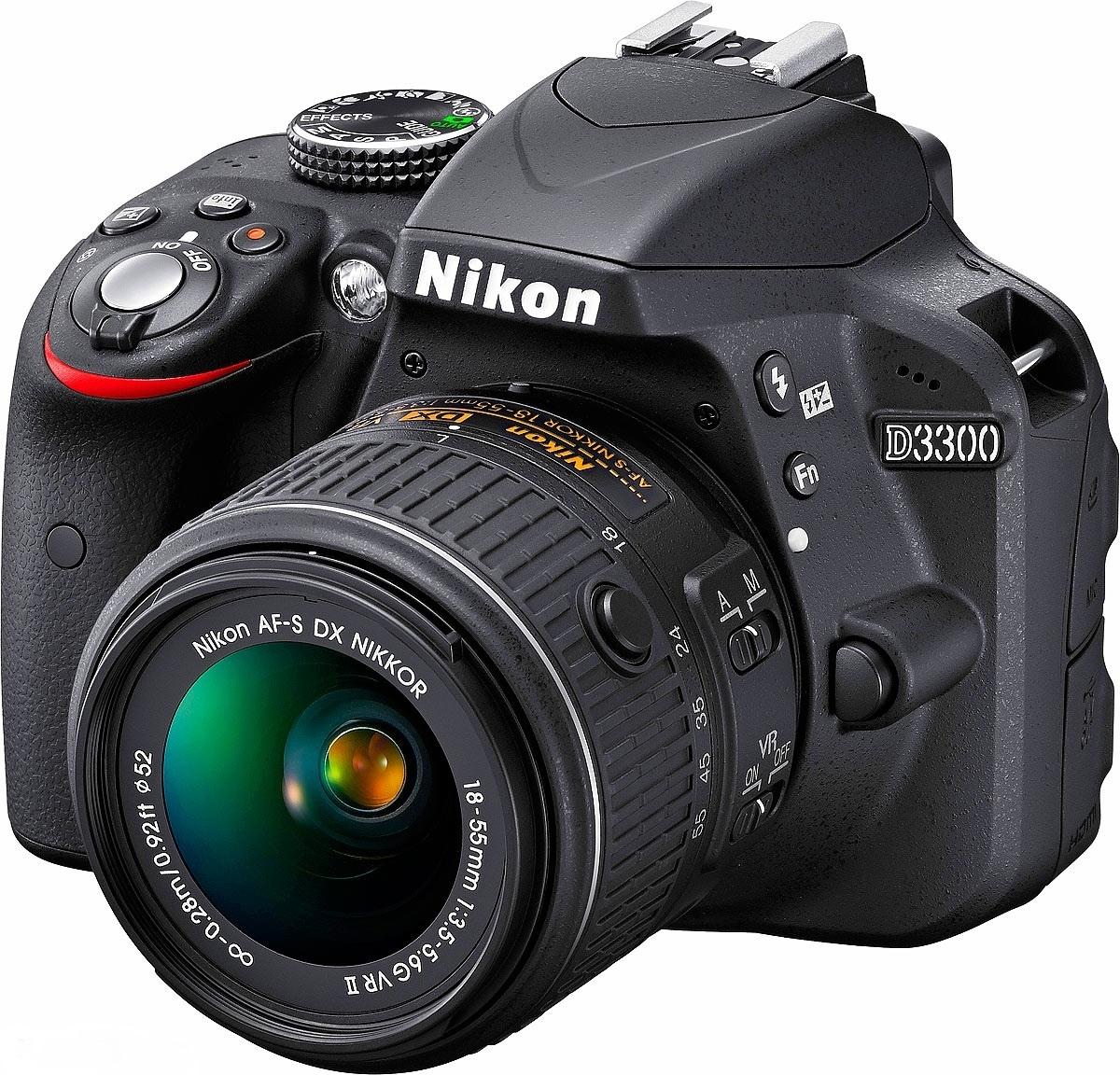 Nikon D3300 kit 18-55mm f/3.5-5.6G AF-S VR II