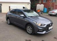 Аренда автомобиля Hyundai Solaris NEW 2018 года серого цвета