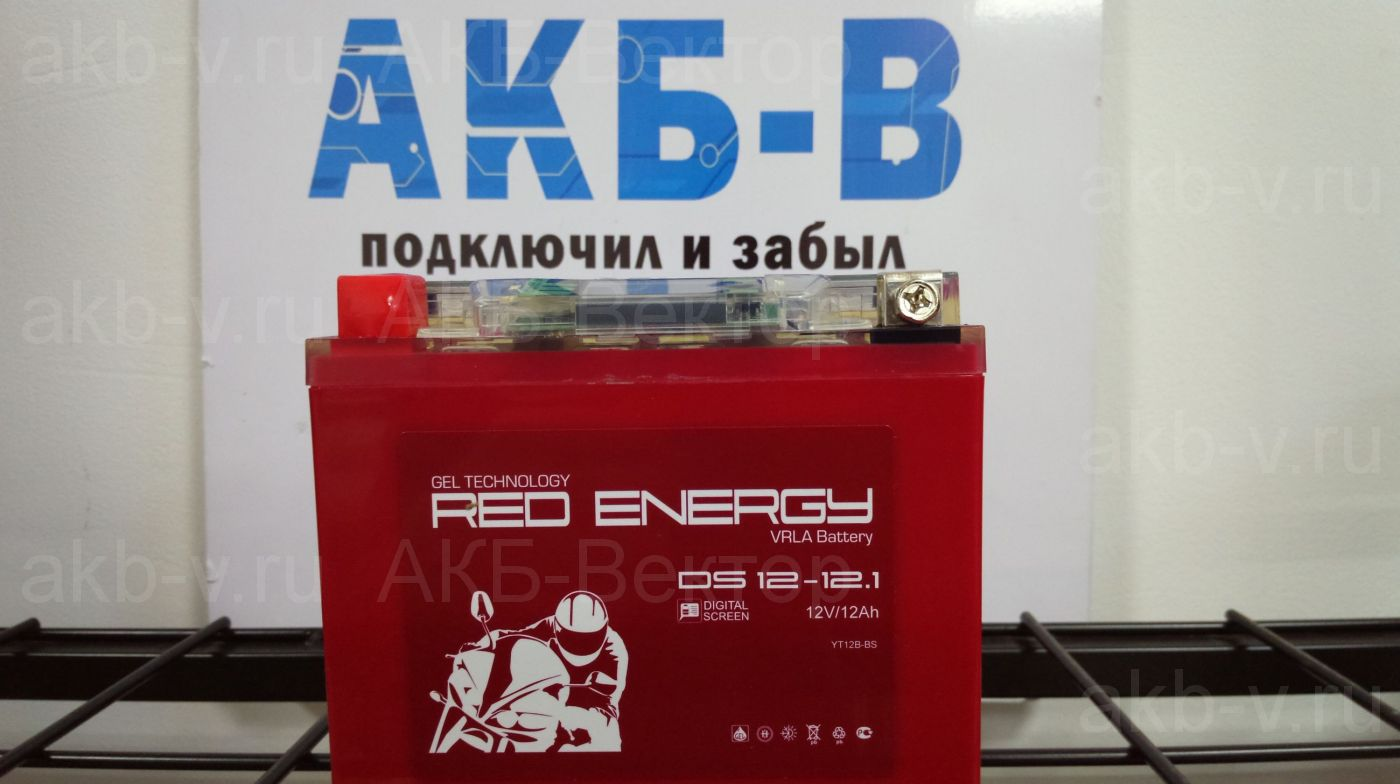 Red Energy DS 1212.1 (12Ач) ,с дисплеем LCD