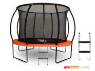Батут Start Line Fitness Global 10 футов с внутренней сеткой и лестницей