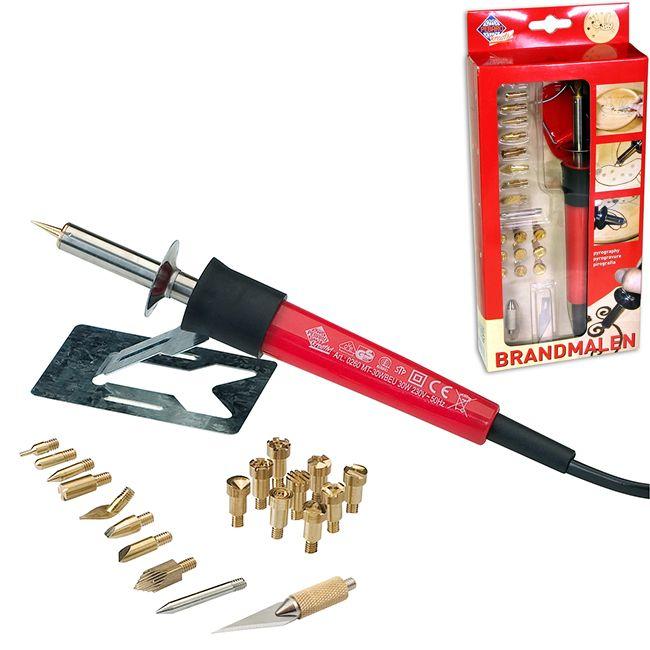 Прибор для выжигания Pebaro 20 насадок Brandmalen