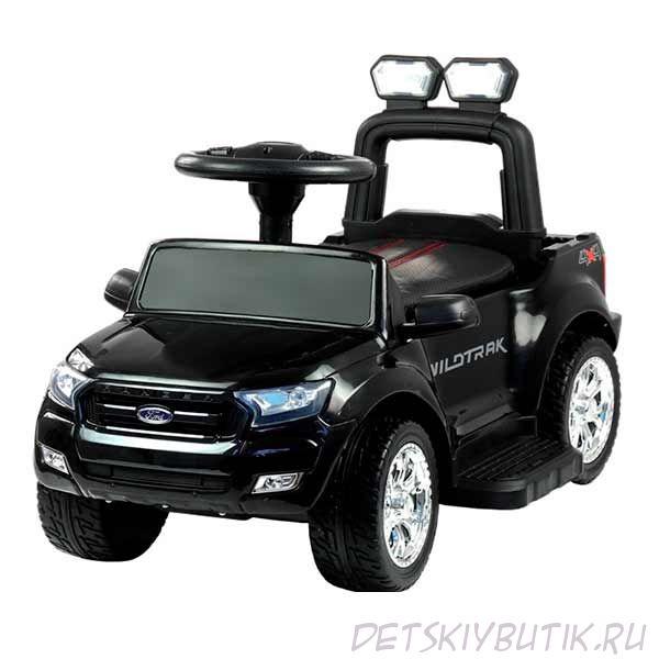 Электромобиль - Ford на аккумуляторе, чёрный