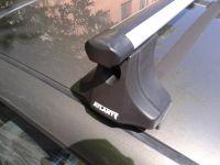 """Багажник на крышу Chevrolet NIVA, Атлант, аэродинамические дуги """"Эконом"""""""