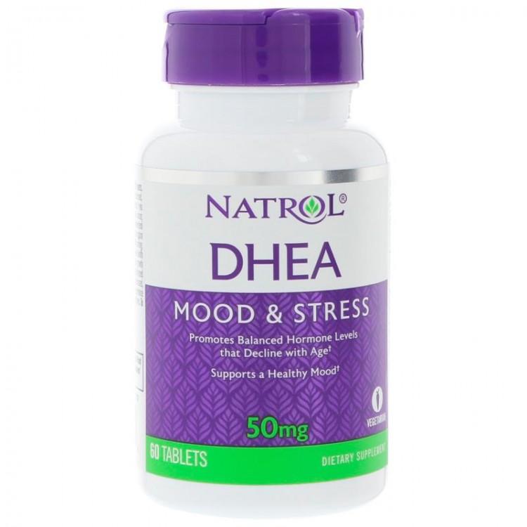 DHEA 50 mg от Natrol 60 таб_