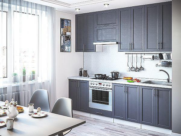 Кухня Сканди-03 Graphite Softwood