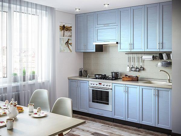 Кухня Сканди-03 Sky Wood