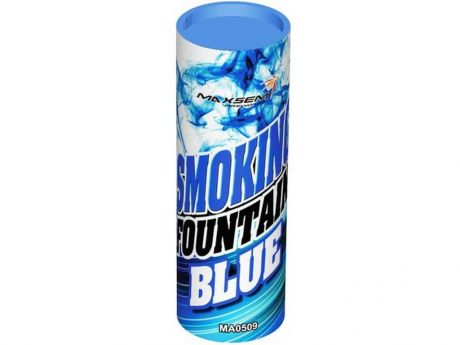 Цветной Дым SMOKING FOUNTAIN синий