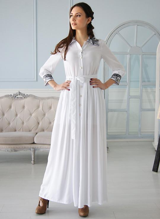 Белое платье Королева