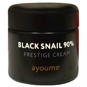 Black Snail Prestige Cream 90% Крем для лица муцином черной улитки  70мл