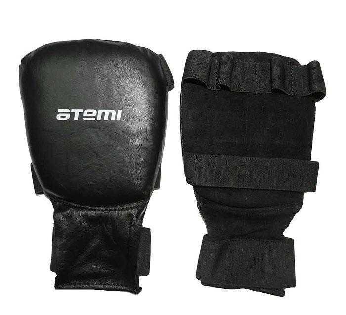 Перчатки для карате ATEMI черные PKP-453