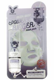 POWER RINGER_ MILK DEEP POWER RING MASK PACK Маска для лица тканевая  23мл