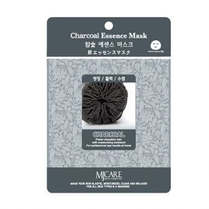 Charcoal Essence Mask Маска тканевая древесный уголь, 23гр