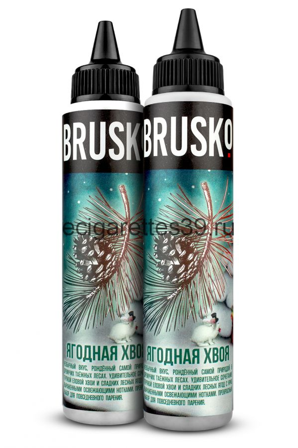 Жидкость Brusko, Ягодная хвоя, 60 мл.