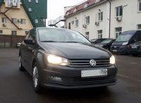 Volkswagen Polo 2018 г. Автомат (черный)